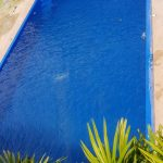 6m swimming pool with spa